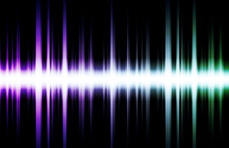 Soundwave Digital Graph as Clip Art Abstract photo