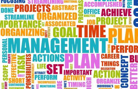 Concepto de administración de tiempo como un fondo abstracto Foto de archivo - 6160301