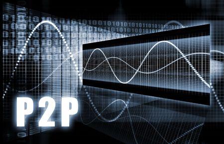 peer to peer: P2P o concepto de peer to peer