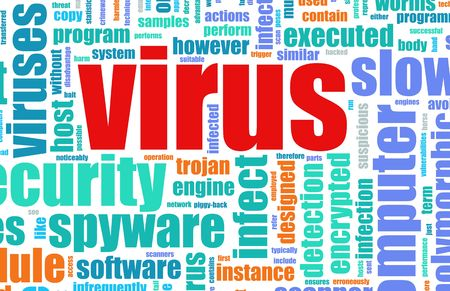 Virus Computer Security Focus as a Background photo