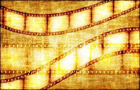 Artistic Grunge Backdrop with Film Rolls Art photo