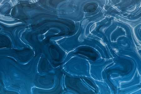 Alien Soothing Liquid Metal Water Abstract Background photo