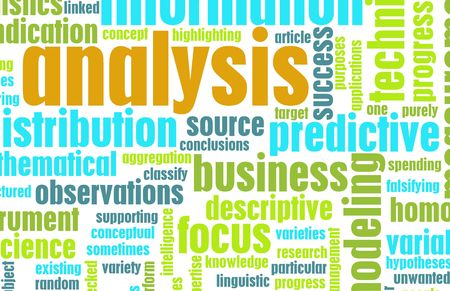 Business Analysis Concept as a Project Abstract photo
