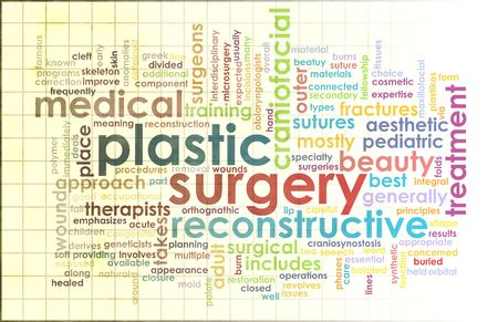 face surgery: Plastic Surgery as Before and After Results Stock Photo