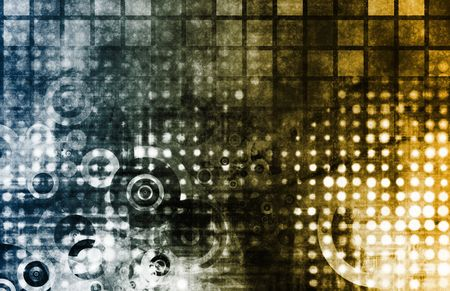 Corporate Abstract as a Modern Business Tech Art Stock Photo - 6247911