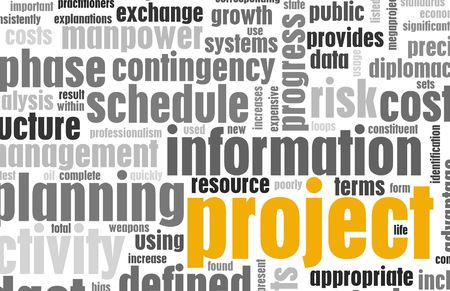 Project Management and Planning as a Background Stock Photo - 6247909