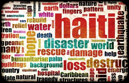 poverty relief: Haiti Earthquake Crisis Disaster as a Concept