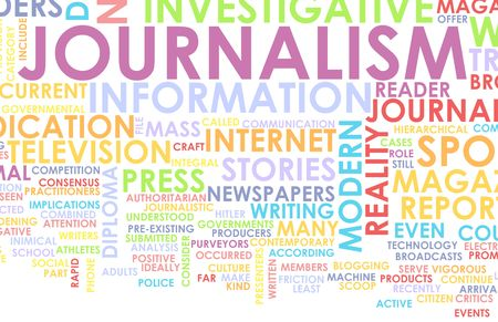 Journalism Career Newspaper Report as a Concept Stock Photo - 6279270