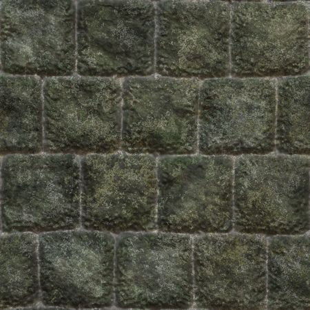 Seamless Stone Wall Background with Texture Rocks photo