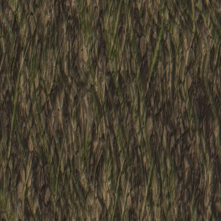 Seamless Tree Bark Wood Texture as Tileable photo