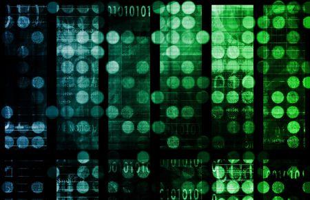evolving: Digital Background Internet Concept as a Art