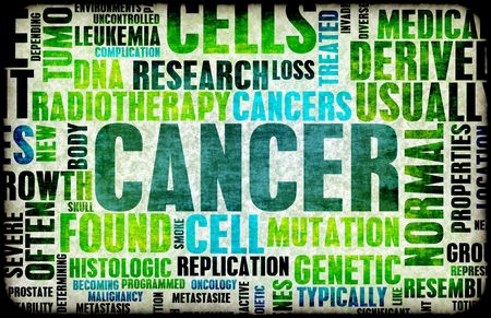 radiotherapy: Cancer Medical Illness Disease as Concept Art