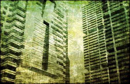 cesspool: Depression and Moral Decay Buildings as Background