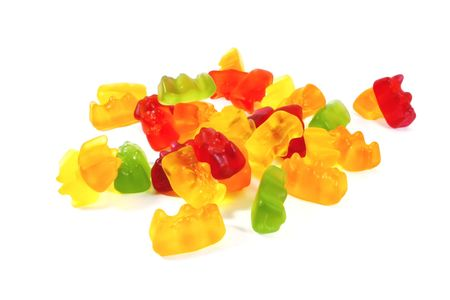 Gummi bears the ultimate candy snack for kids and children Stock Photo - 6285166