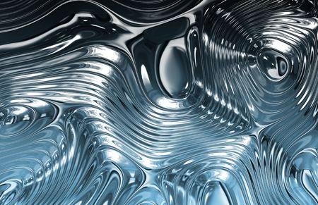 rimpeling: Liquid Metal Wild Clean Ripple structuur achtergrond