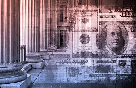 launder: Concepto de ley de Finanzas como un arte y contabilidad  Foto de archivo
