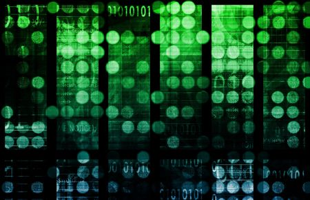 Data Network with Fast Moving Data Packets Stock Photo - 6372058