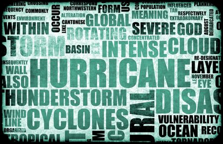 Natural Disaster as a Art Background Stock Photo - 6415775