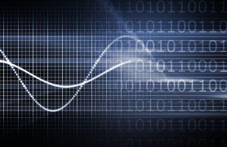 Abstract としてハイテク セキュリティ ネットワーク データ モニター