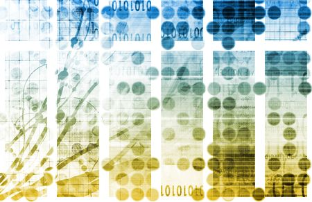 Internet World Wide Web Abstract Tech Background Stock Photo - 6465888