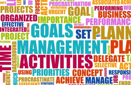 Management of Time and Goals in Business Stock Photo - 6465886