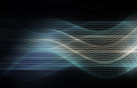 Technology Background as a Digital Abstract Art Stock Photo - 6503579