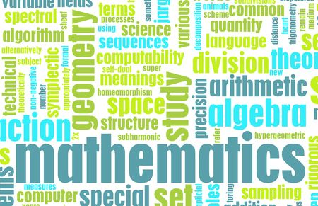Mathematics Studies as a Abstract Math Background Stock Photo - 6503604