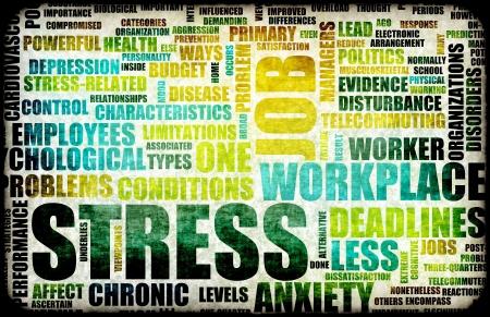 estr�s: Carga de trabajo en el lugar de trabajo como concepto