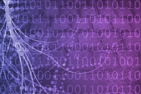 A Biotech Futuristic Alien Background Pattern Texture Stock Photo - 6537848