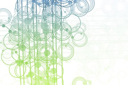 Clean Flowing Lines and Circles Abstract Background  photo
