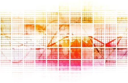 Digital Abstract Data Media As a Art photo