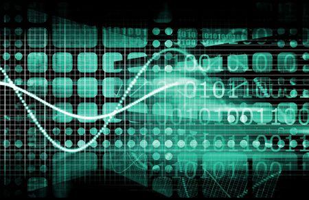 protocols: Cyber Security Concept di Internet come un background