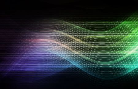 Technology Background as a Digital Abstract Art Stock Photo - 6592312