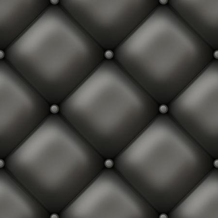 Nahtlose gepolstertes Luxus-Wall als Hintergrund Art