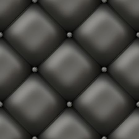 Seamless Padded Luxury Wall as Background Art
