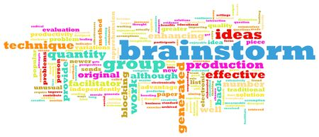 A Brainstorming Session Concept as a Abstract Stock Photo - 6592342