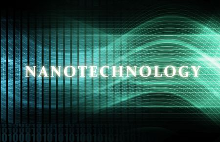 Nanotechnology or Nanotech Concept as a Abstract photo