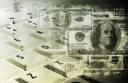 moneymaker: Make Money Online Concept as a Background