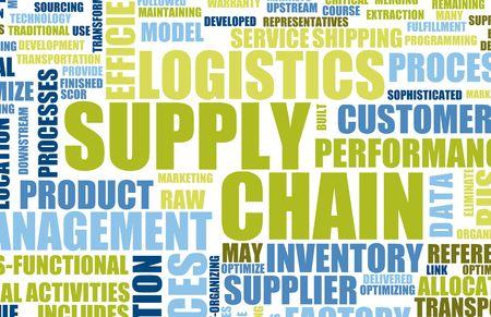 leveringen: Chain Management achtergrond als ontwerp Art leveren