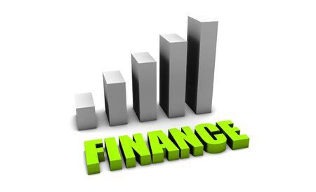matters: Green Finance Matters in 3d with Bar Chart