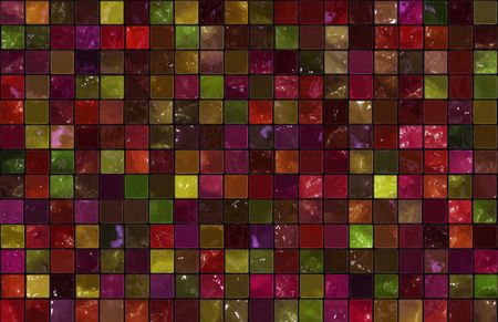 Mosiac Tiles Background as a Colorful Abstract Stock Photo - 6611262