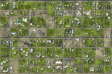suburbia: Neighborhood Suburbs Area as a Home Background