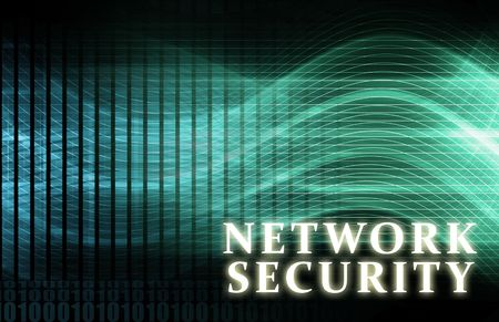 Network Security as a Concept Background Art Stock Photo - 6611252