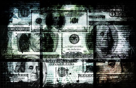 Dirty Money Crime and Corruption of Wealth Stock Photo - 6623258