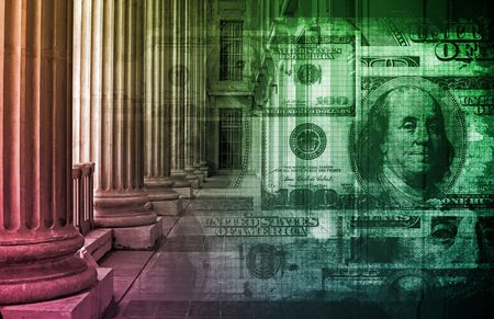 money matters: Business Law Concept Background as a Abstract Stock Photo
