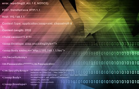 Web Data Research and Development As Art Stock Photo - 6629280
