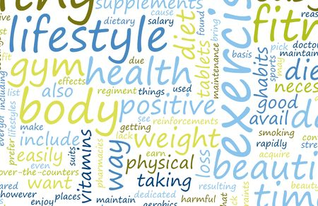 dieta sana: Estilo de vida saludable a trav�s de fitness como un arte