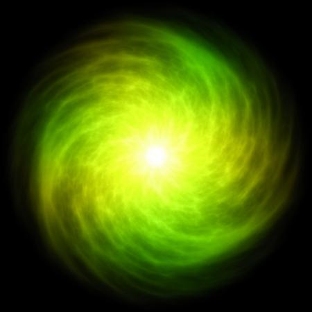 Alien Abstract Vortex Background Art in Swirls Stock Photo - 6649011