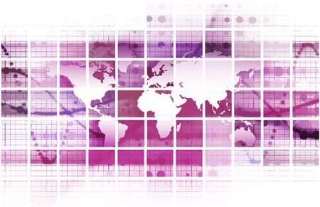 Security Network Data of the World Background Stock Photo - 6684136