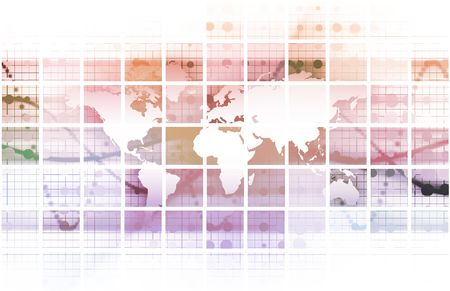 Security Network Data of the World Background Stock Photo - 6684158